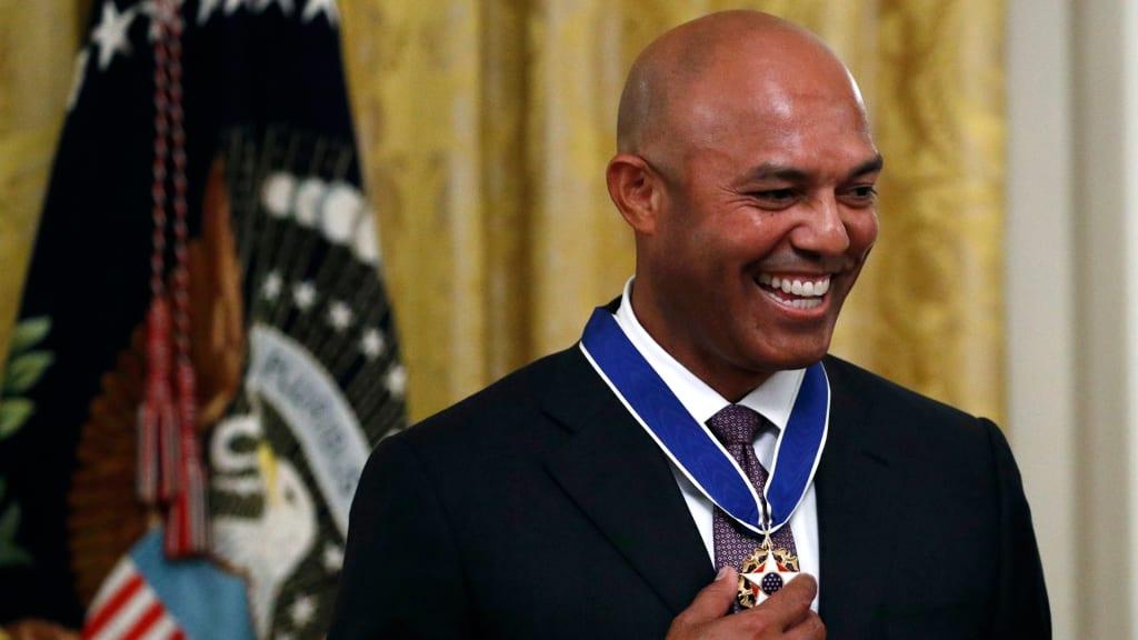 Mariano Rivera fue reconocido en la Casa Blanca